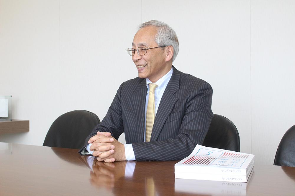 税理士法人タクトコンサルティング 玉越賢治氏インタビュー風景