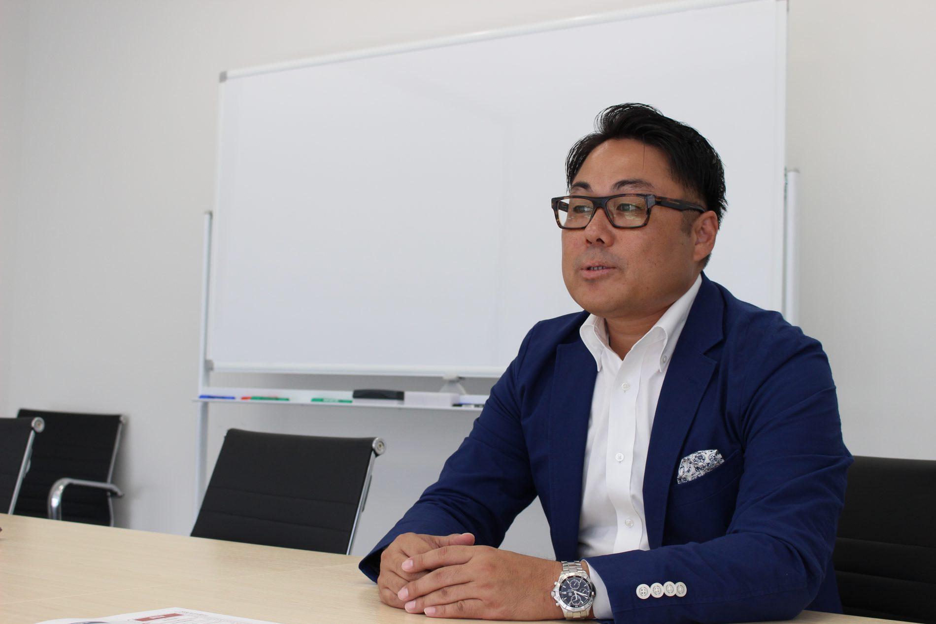 三宅宏通さんのインタビューシーン2