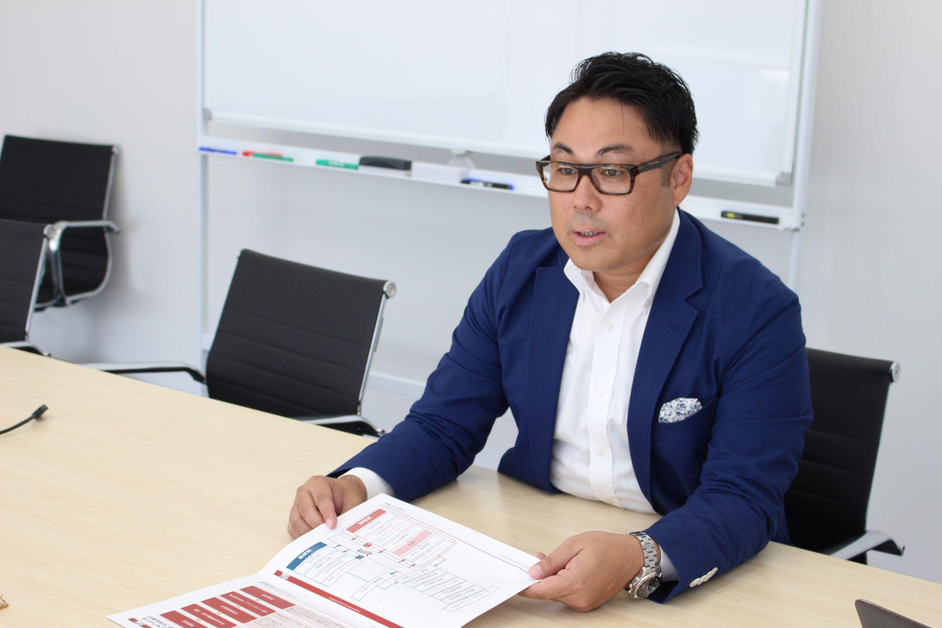 三宅宏通さんのインタビューシーン3