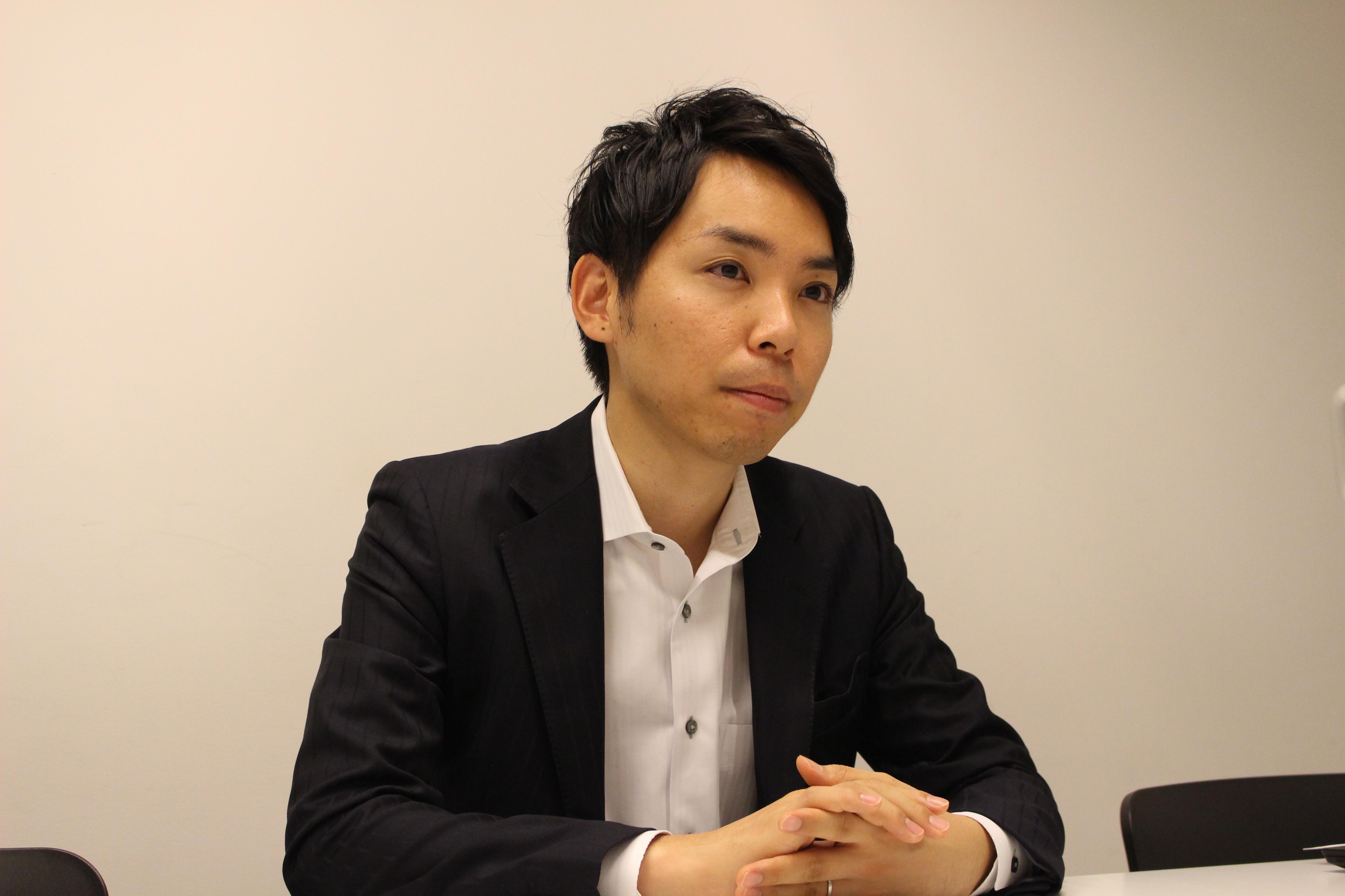 土井一真さんのインタビュー写真2