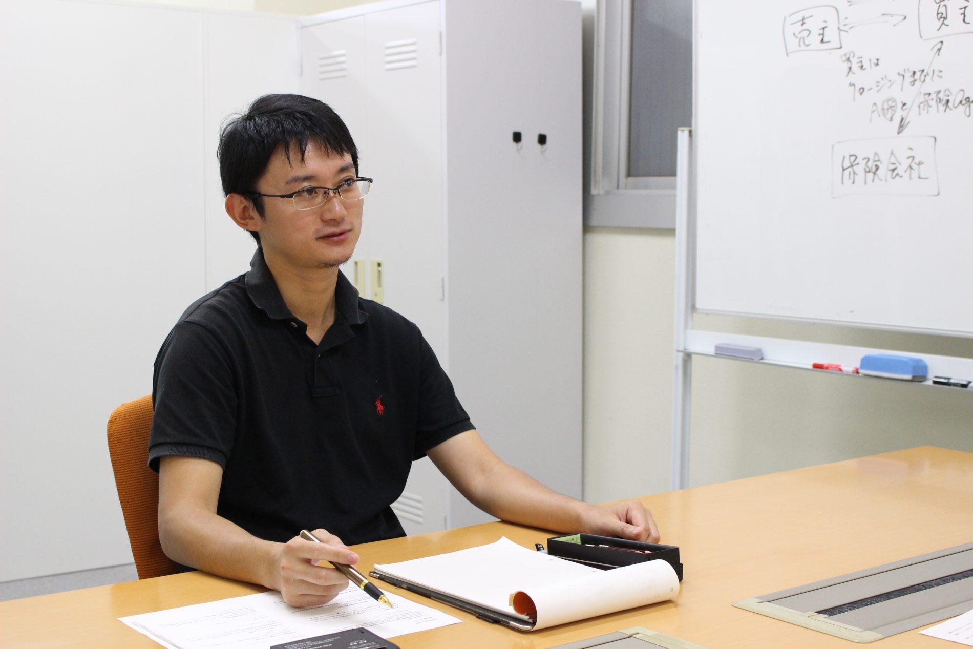 村永 俊暁さんのインタビューシーン4