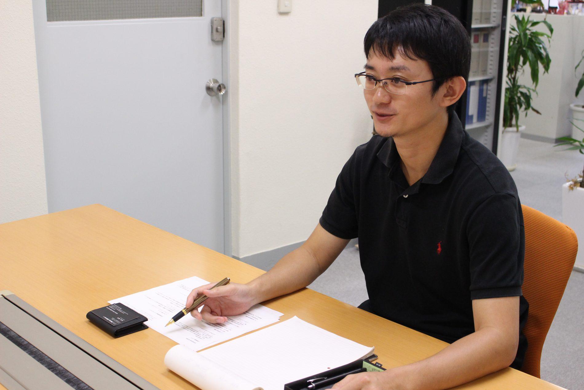 村永 俊暁さんのインタビューシーン2