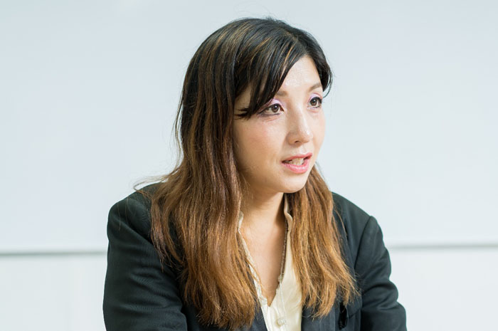 前垣内佐和子インタビューシーン1