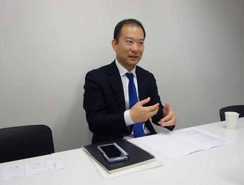 池田輝之氏インタビューシーン1