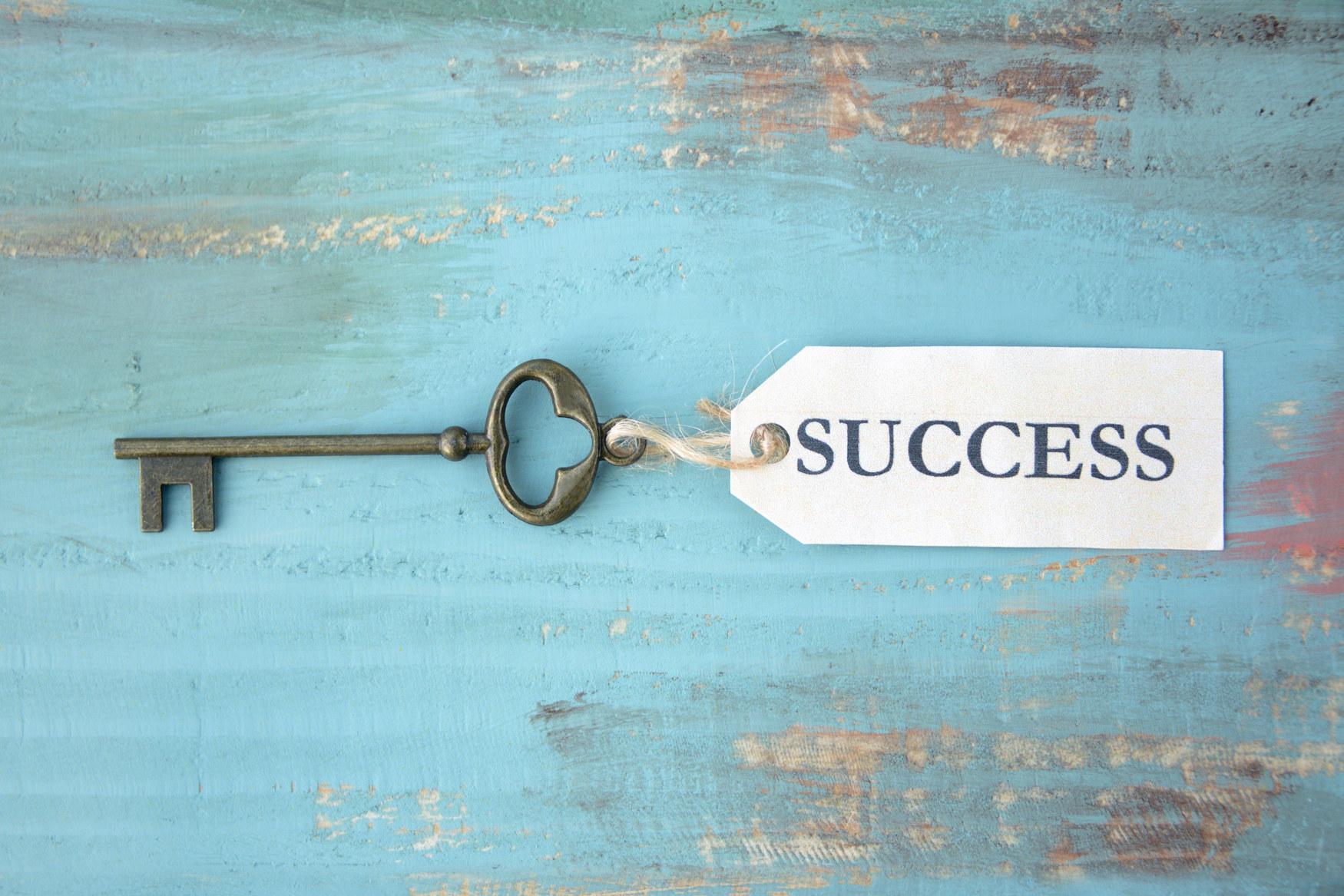 成功の鍵イメージ