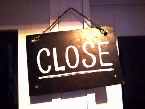 閉店のイメージ