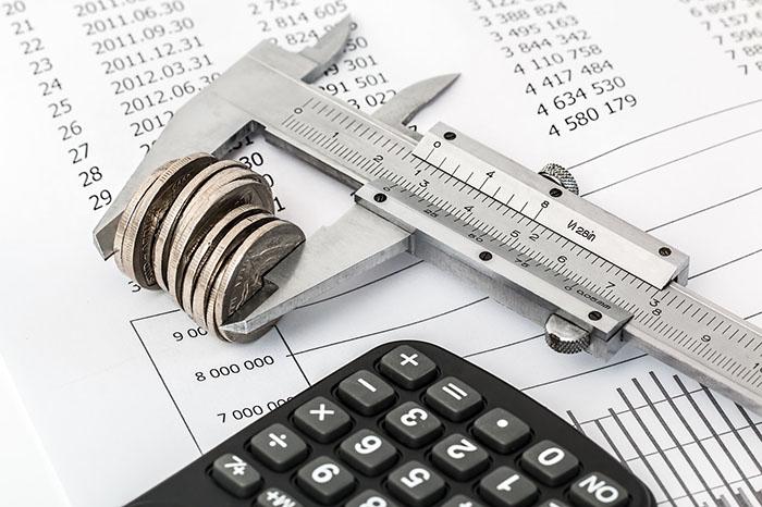 財務状況を調べるイメージ