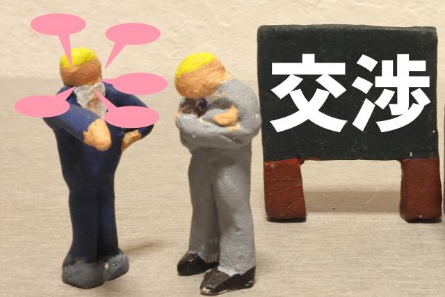 M&Aの交渉のイメージ
