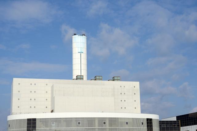 青空と産業廃棄物処理場